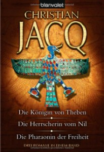 Cover des Sammelbands der Ahotep-Trilogie
