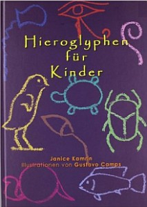Buchcover Hieroglyphen für Kinder