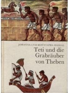 Buchcover Teti und die Grabräuber von Theben