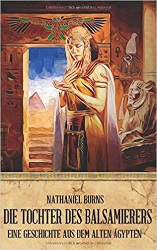 Buchcover Burns, Die Tochter des Balsamierers