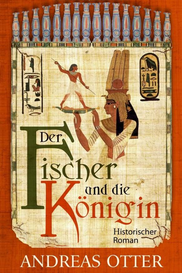 """Buchcover """"Der Fischer und die Königin"""""""
