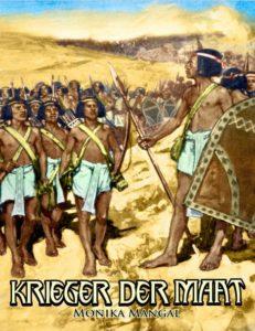 """Buch-Cover """"Krieger der Maat"""" von Monika Mangal"""