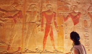 Frau in Abydos