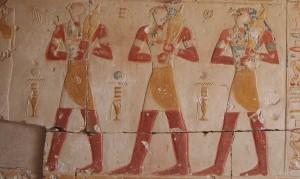 Relief im Tempel Ramses II.