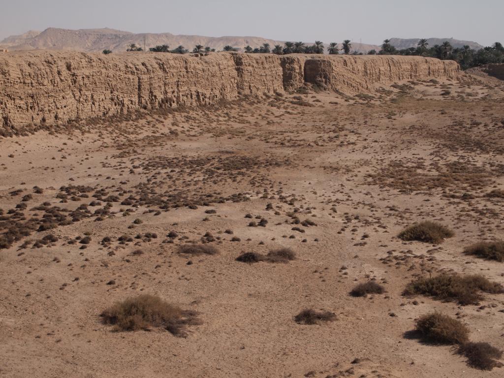 Nix zu sehen von der antiken Stadt Necheb