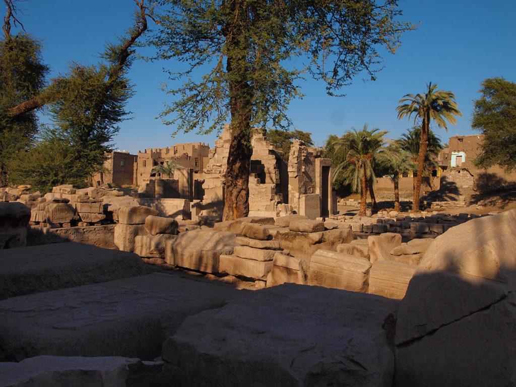 Der Tempel von el-Tod - ein besonderes Erlebnis