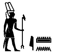 Mann mit hoher Federkrone