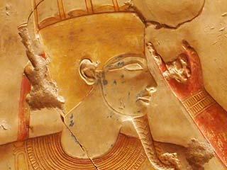 Amun-Re im Tempel von Abydos