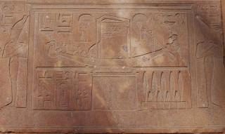 Amun-Barke beim Opet-Fest in der Roten Kapelle der Hatschepsut