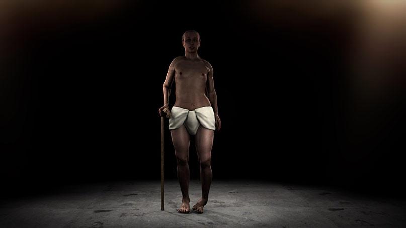 Für reichlich Diskussionen sorgte diese Rekonstruktion von Tutanchamuns Aussehen im Oktober 2014. Der Kindkönig mit Pferdegebiss, weiblichen Brüsten und Hüften und einen Klumpfuß? Bild: STV Production
