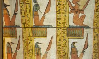 Dämonen im Grab des Sennedjem