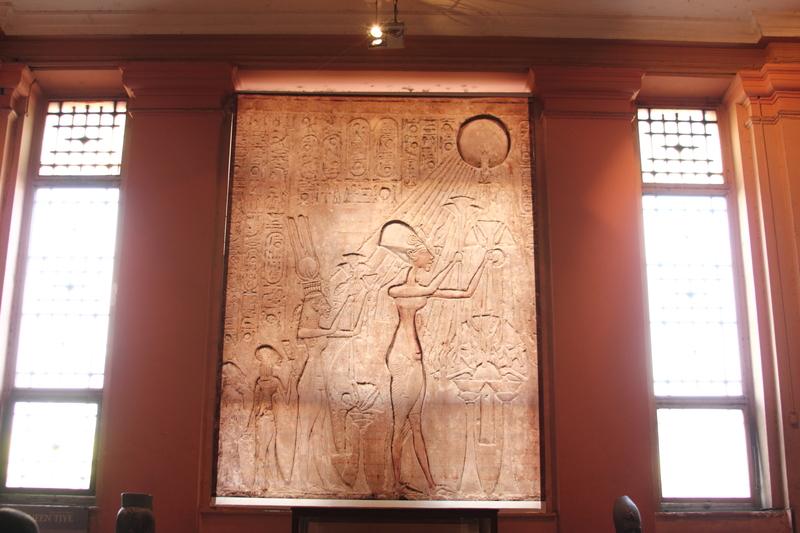 Relief von Echnaton, Nofretete und zwei seiner Töchter Copyright Mohamed Ahmed Soliman | Dreamstime.com