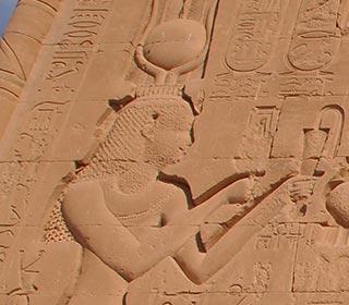 Kleopatra Dendera Tempel