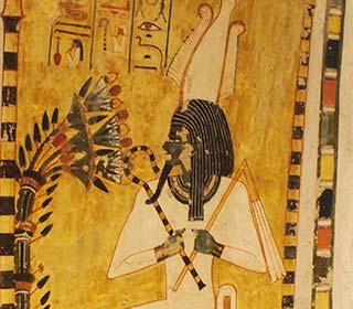 Osiris im Grab des Menna