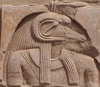 Chnum auf Elephantine