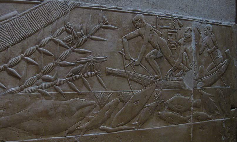 Fischer im Grab des Kagemni