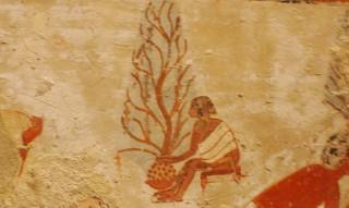 Mutter mit Kind aus dem Grab des Menna