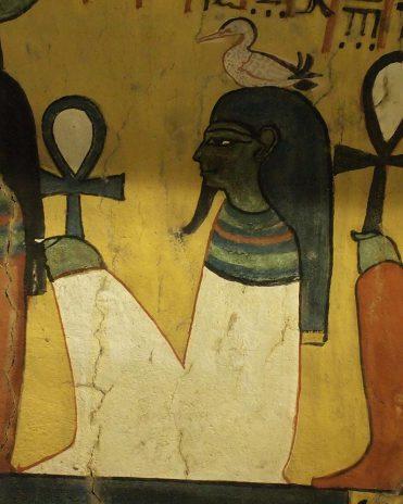 Geb im Grab des Paschedu (TT 3) Theben-West Neues Reich, 19. Dynastie