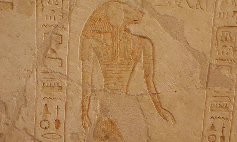 Hapi Grab des Pay und Raya, Sakkara Neues Reich, 18. Dynastie