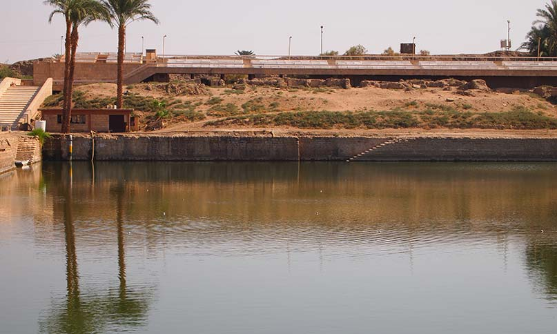 Der Heilige See in Karnak