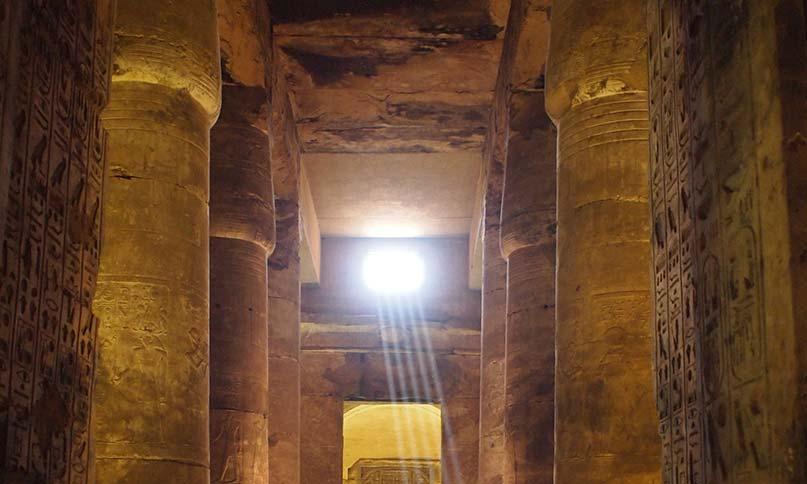 Hypostyl im Abydos-Tempel