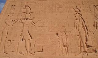 Kleopatra und Caesarion