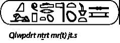 Kleopatra in Hieroglyphen