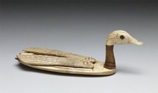 Kosmetikbehälter in Form einer Ente