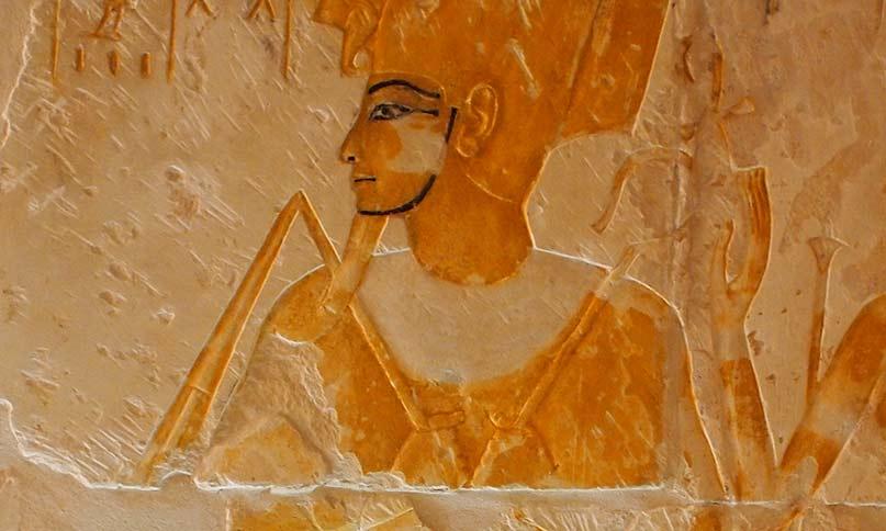 Der Totengott Osiris Grab des Maya, Sakkara Neues Reich, 18. Dynastie