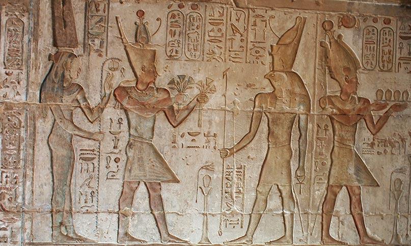 Ptolemaios VII mit Arsinoe