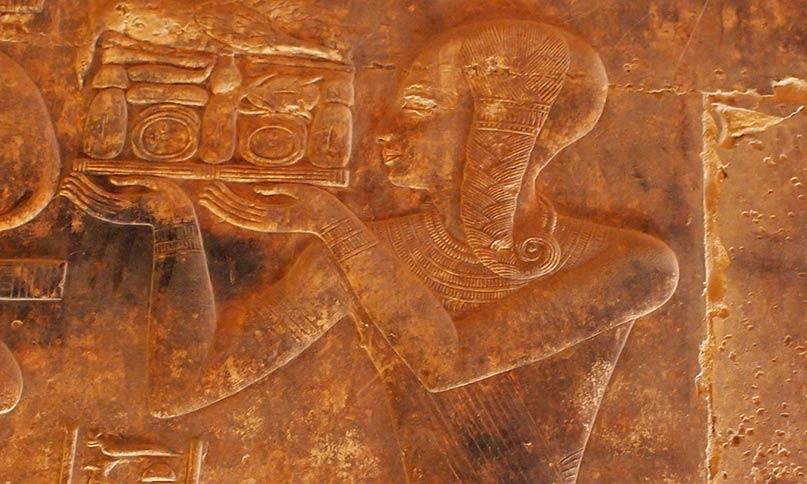 Ramses mit Jugendlocke