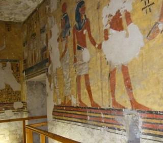 Relief aus dem Grab des Eje