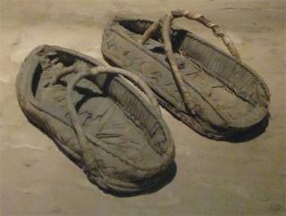 Sandalen aus Papyrus Reichsmuseum Leiden