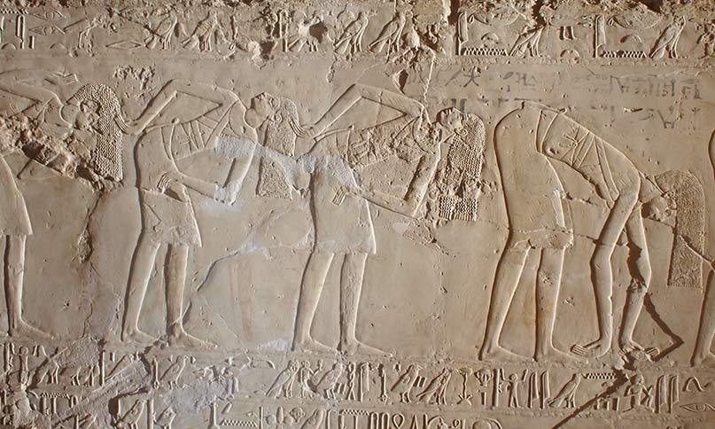 Tänzerinnen im Grab des Cheruef