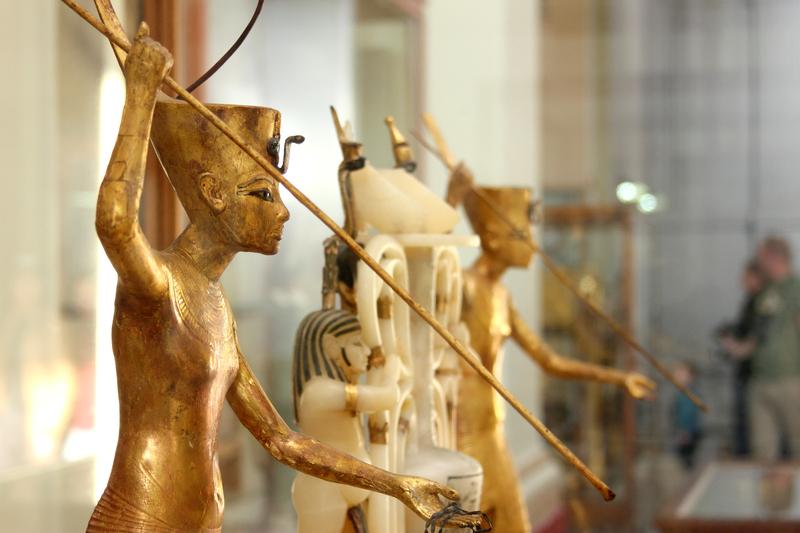 Statuen Tutanchamuns Copyright Mohamed Ahmed Soliman | Dreamstime.com