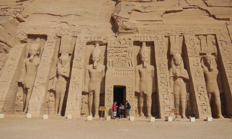 Der kleine Tempel der Nefertari Bild: Ali Sonay