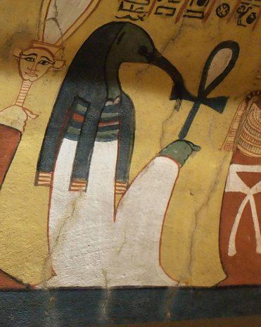 Thot im Grab des Pashedu (TT 3) Theben-West Neues Reich, 19. Dynastie