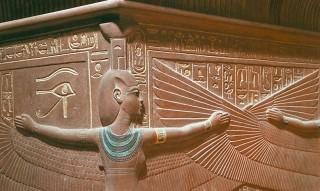 Quarzitsarkophag Tutanchamuns