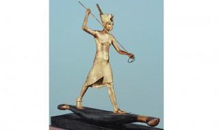 Statue aus dem Grab Tutanchamuns