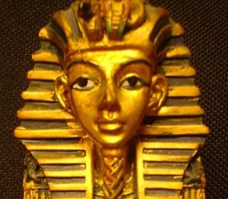 Kitschiger Pharao