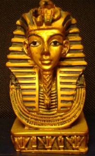 kitschiger Tutanchamun