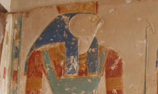 Horus Ramses II. Tempel in Abydos Neues Reich, 18. Dynastie