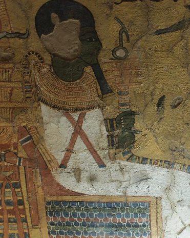 Ptah im Grab des Paschedu Theben-West Neues Reich, 19. Dynastie