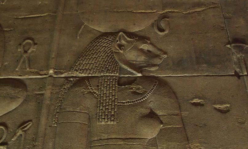 Die Göttin Sachmet Tempel von Philae