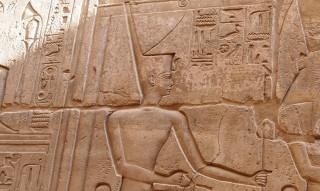 Die Göttin Neith Karnak-Tempel