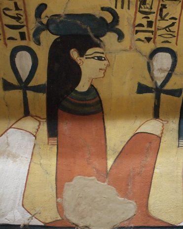 Neith im Grab des Paschedu Theben-West Neues Reich, 19. Dynastie