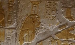 Die Göttin Nephthys Grab des Maya, Sakkara Neues Reich, 18. Dynastie